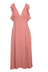 Vera Maxi Dress (Blush)