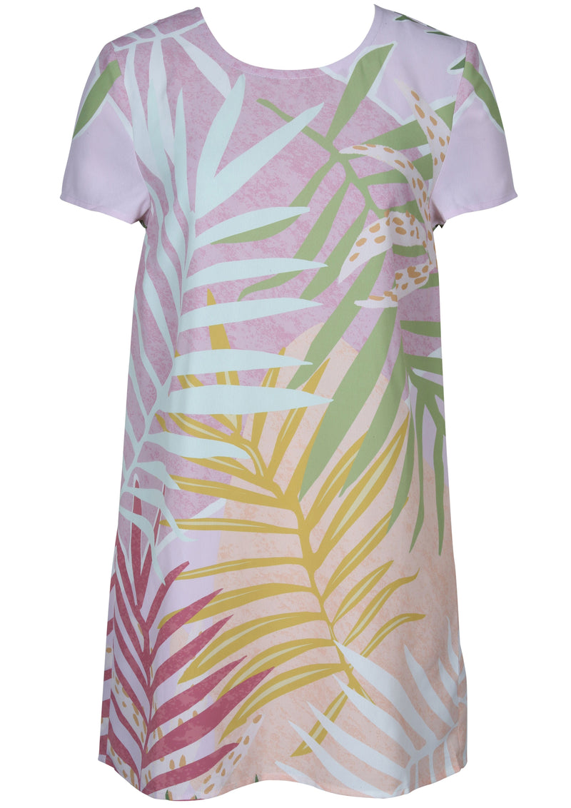 Palm Springs Tee Dress (Multi)
