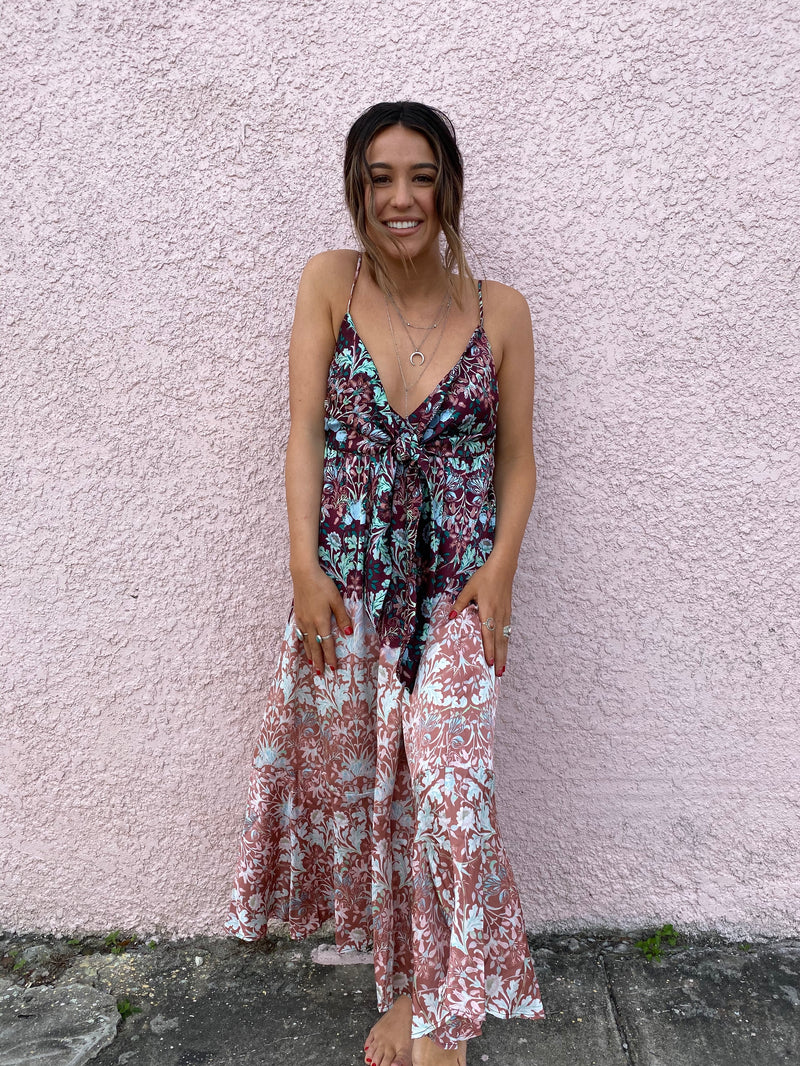Sun Bleached Maxi Dress (Multi)