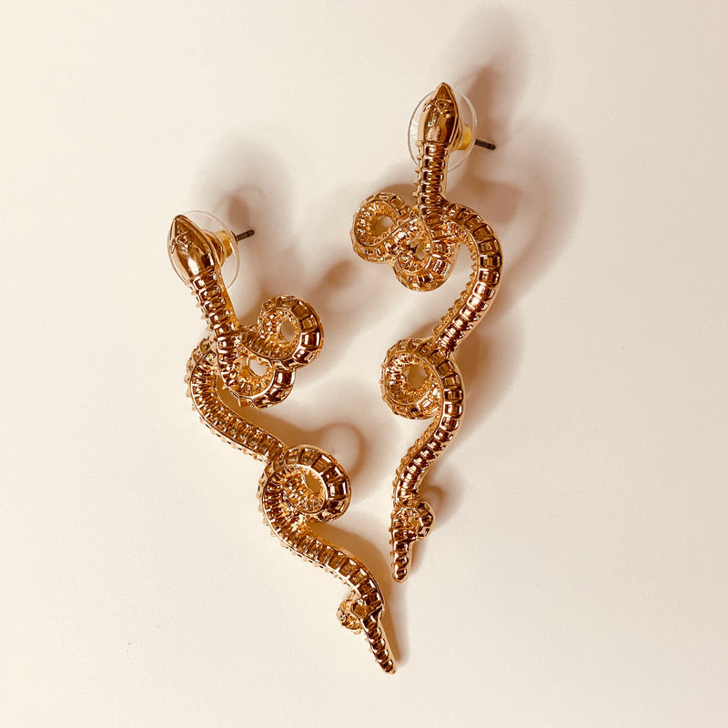 Megan Snake Earrings