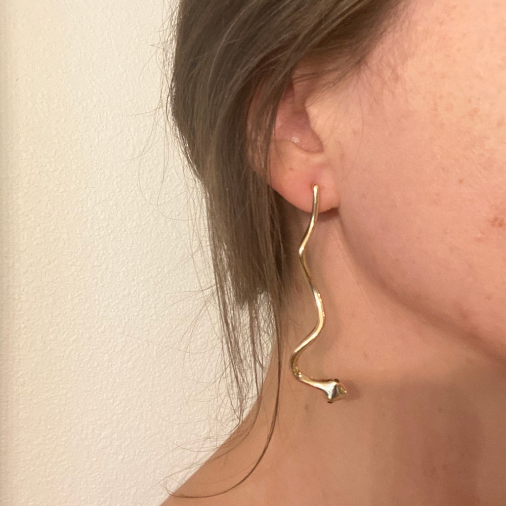 Jay Snake Earrings