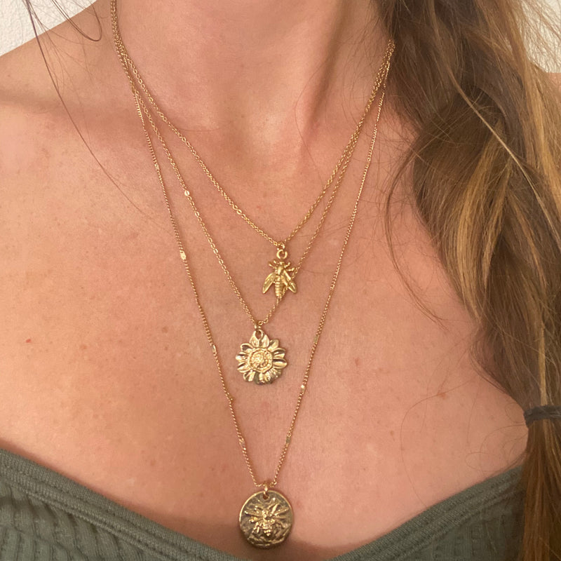The Bees Knees Necklace