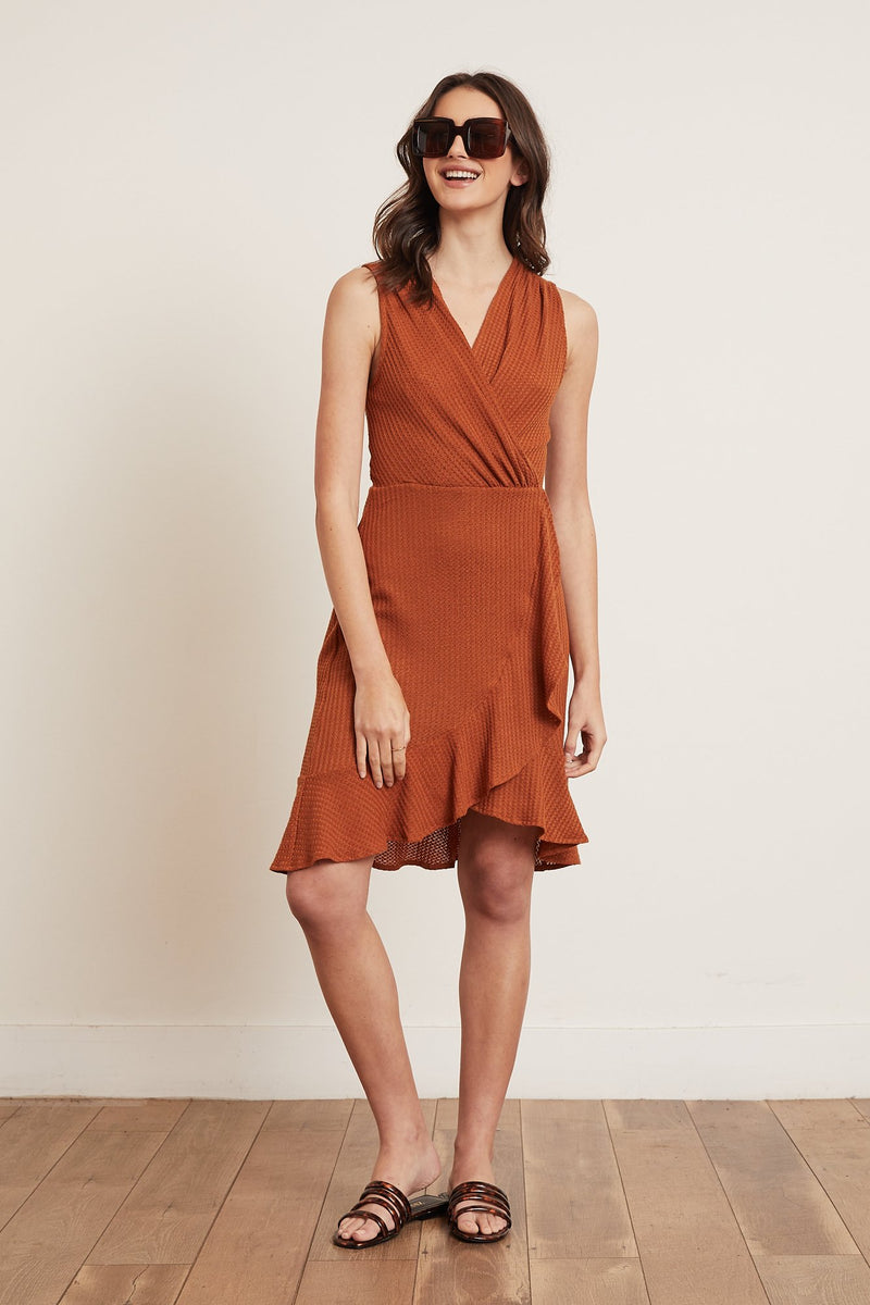 Devin Knit Dress (Rust)
