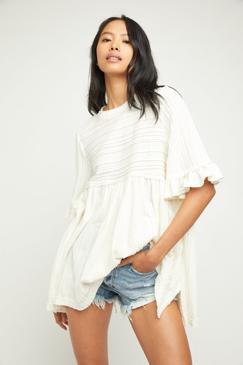 Take A Spin Tunic (Ivory)
