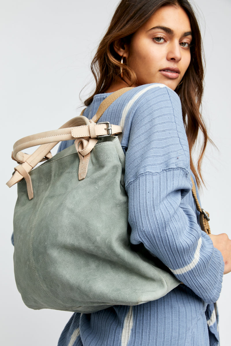Carson Convertible Backpack (Moss Combo)