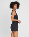 Seaview Dress (BLK)