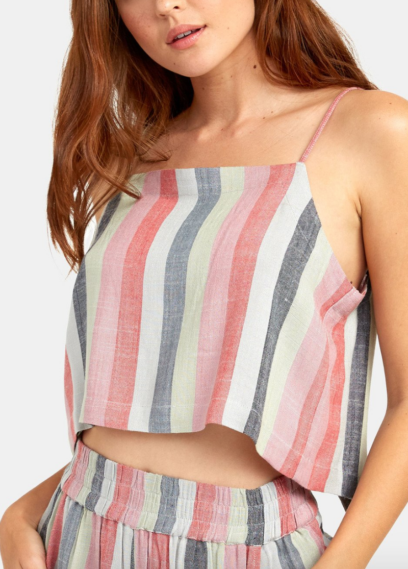 Logan Stripe Tank (MUL) ONLINE EXCLUSIVE