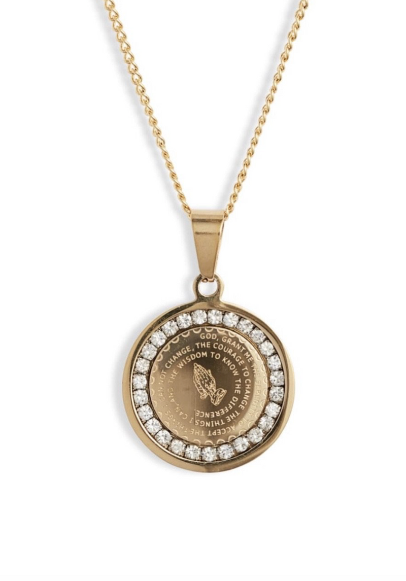 Prayer Warrior Necklace (Gold)