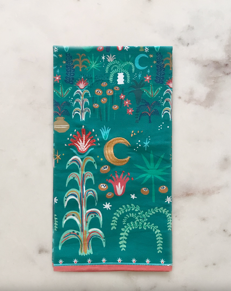 Mystic Palm Tea Towel