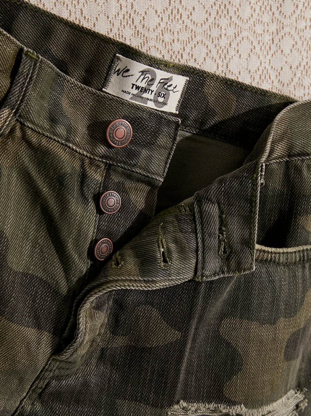 Good Vibrations Short (Camo)