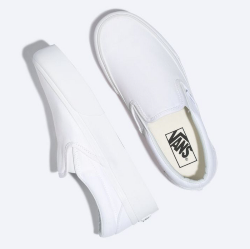 Slip-On Platform (True White)