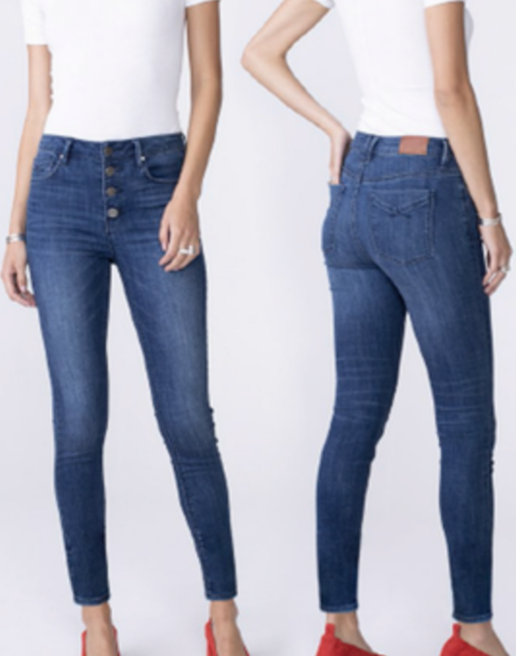 OLIVIA High Rise Skinny in Twilight
