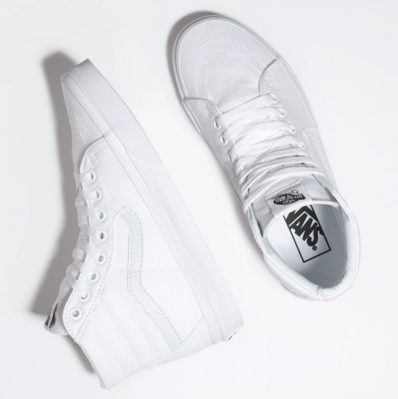 Canvas Sk8-Hi (True White)