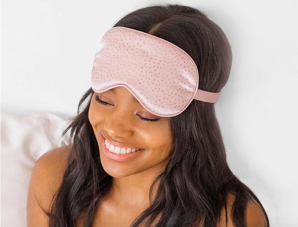 Satin Eye Mask (Micro Dot)