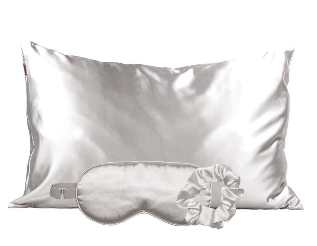 Satin Sleep Set (Silver)