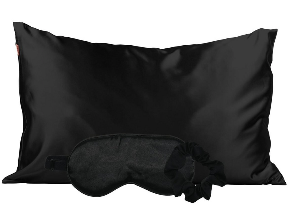 Satin Sleep Set (Black)