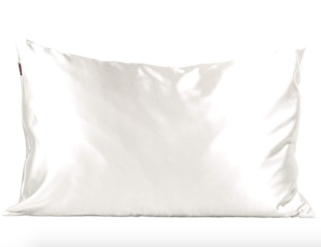 Satin Pillowcase (Ivory)