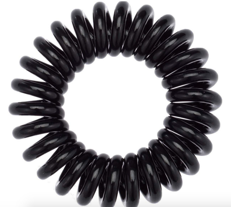 Hair Coils 8 Pack (Black)