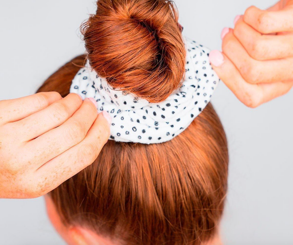 Microfiber Towel Scrunchies (Micro Dot)