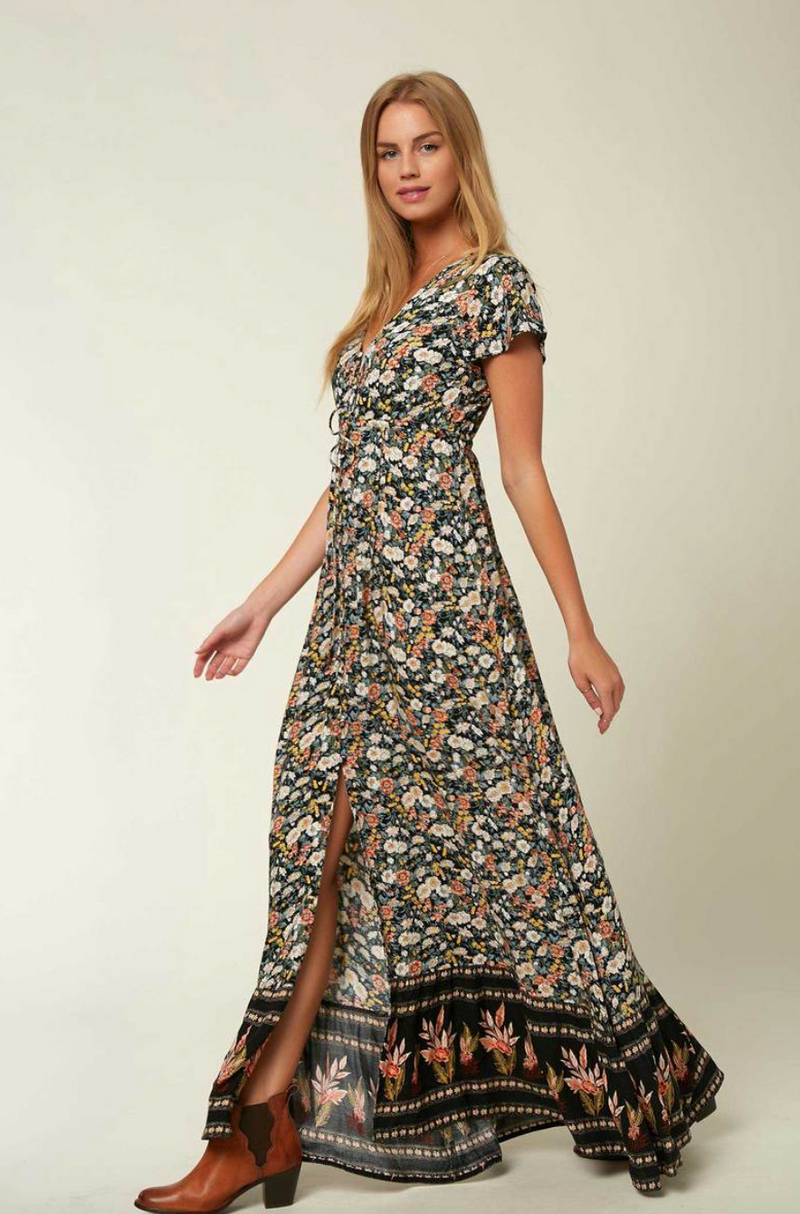 Clarissa Maxi Dress (BLK)