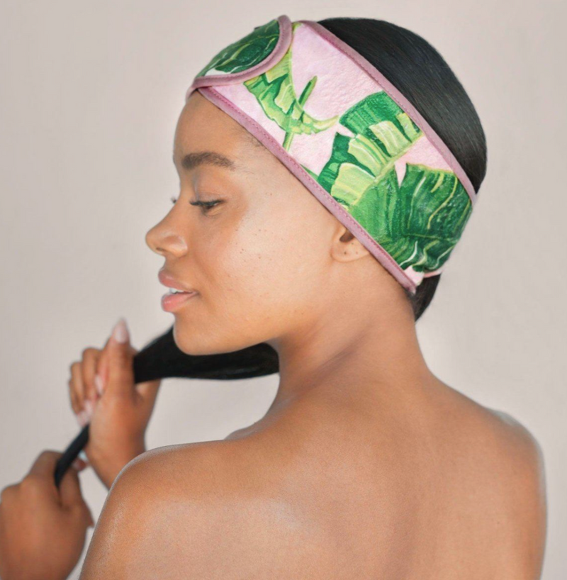 Spa Headband (Palm Print)