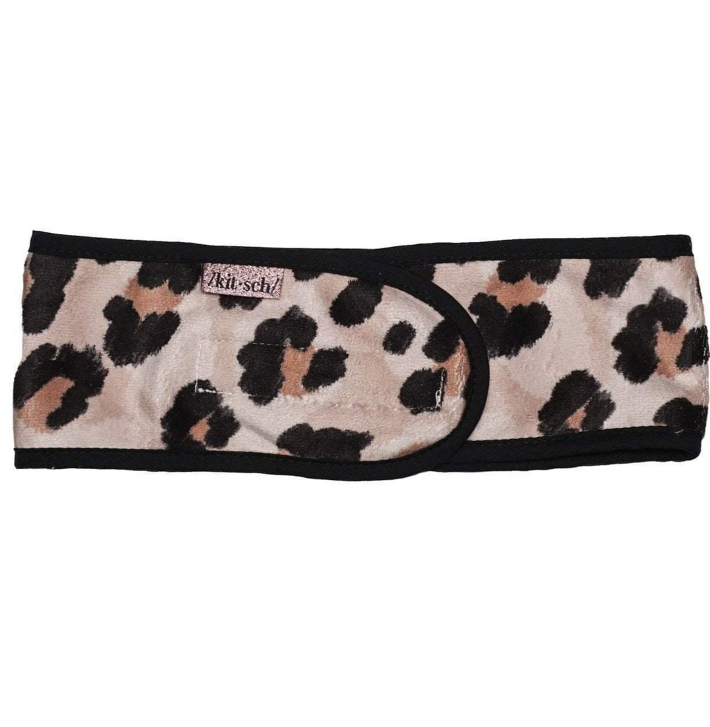 Spa Headband (Leopard)