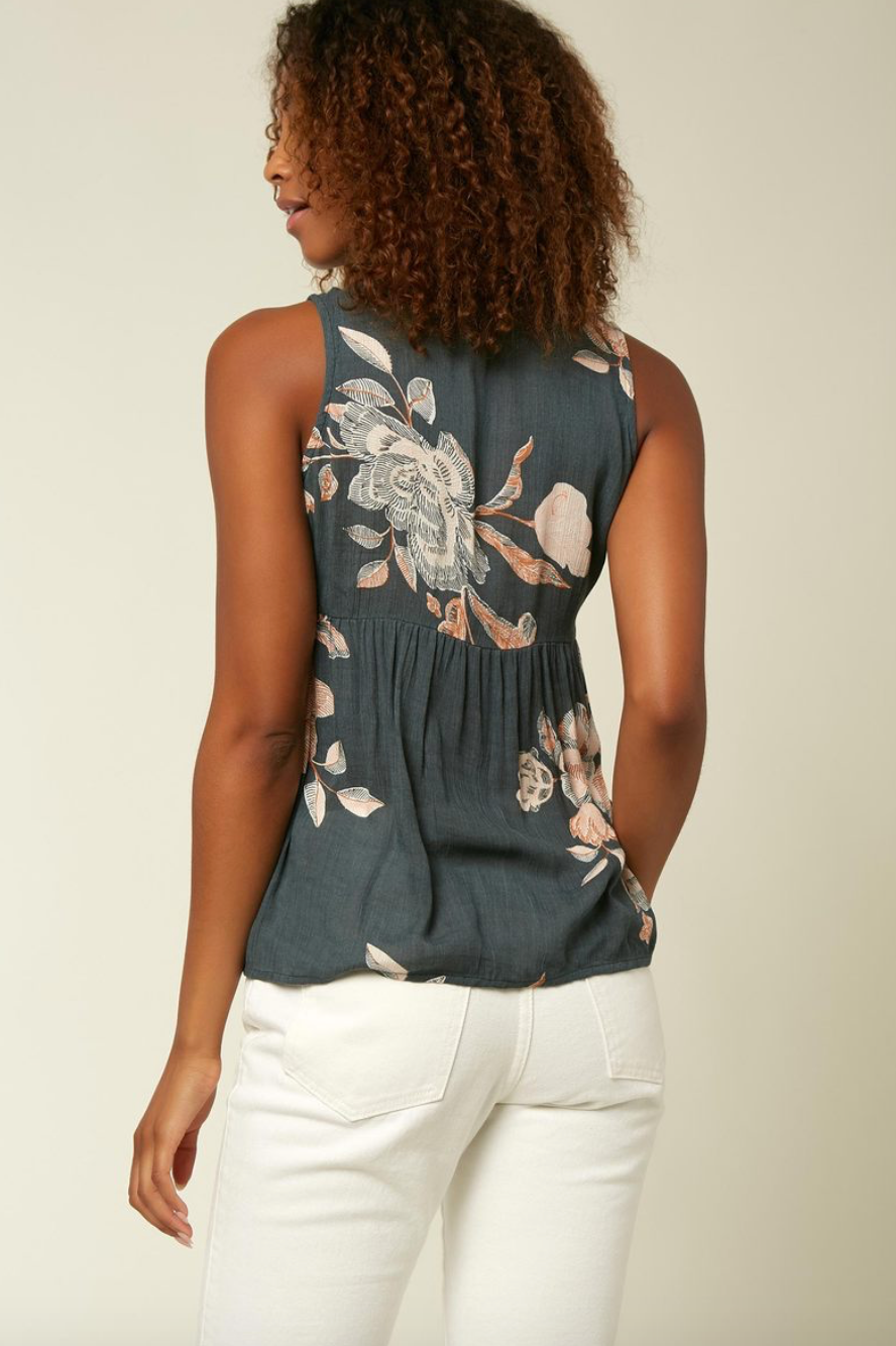 Chrystie Floral Top (SLT)
