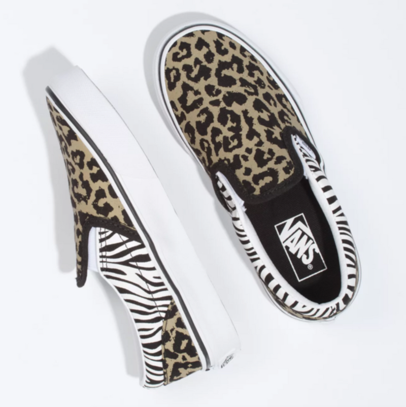 Classic Slip-On (Animal Mix)