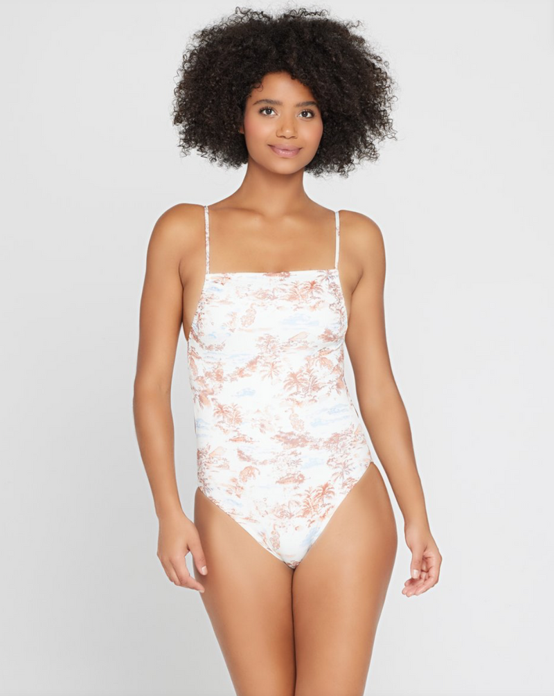 Eco Chic Econyl® Everly One Piece Swimsuit (TOS)