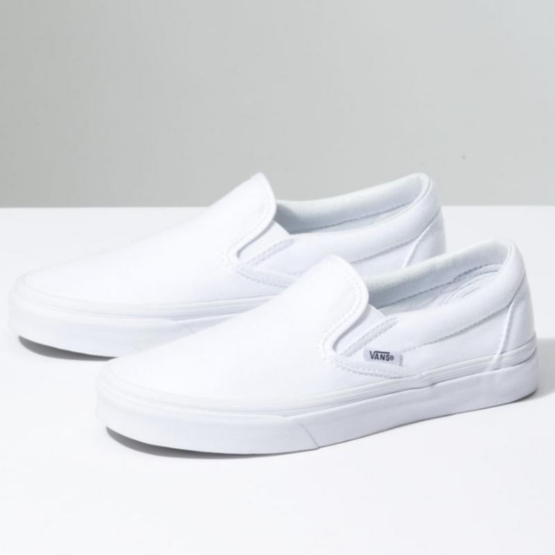 Comfycush Slip On (True White)