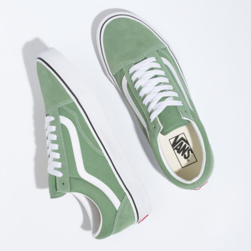 Old Skool (Shale Green/True White)