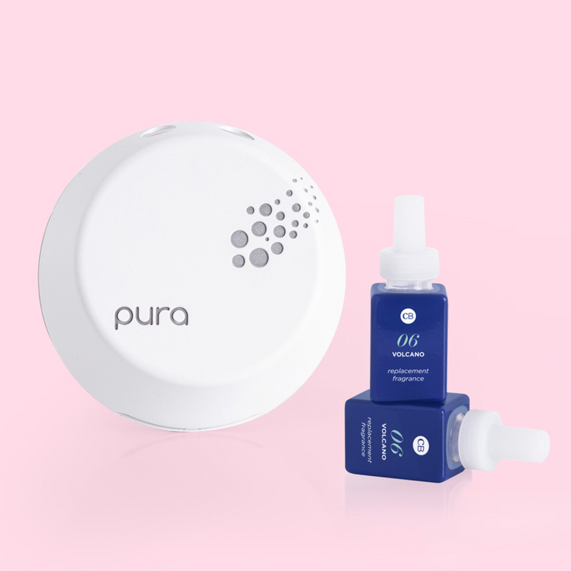 CB + Pura Smart Home Diffuser Kit, Volcano