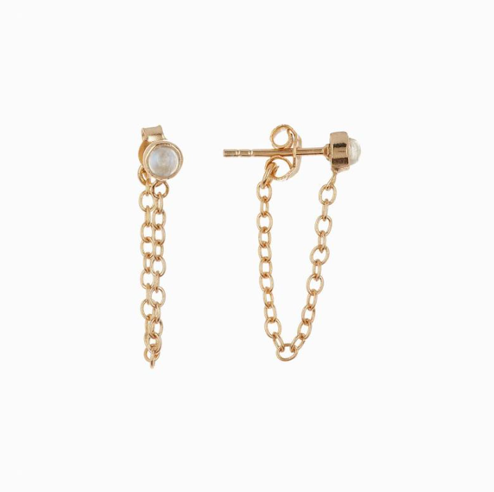 Chain Ear Wrap Earring (Gold)