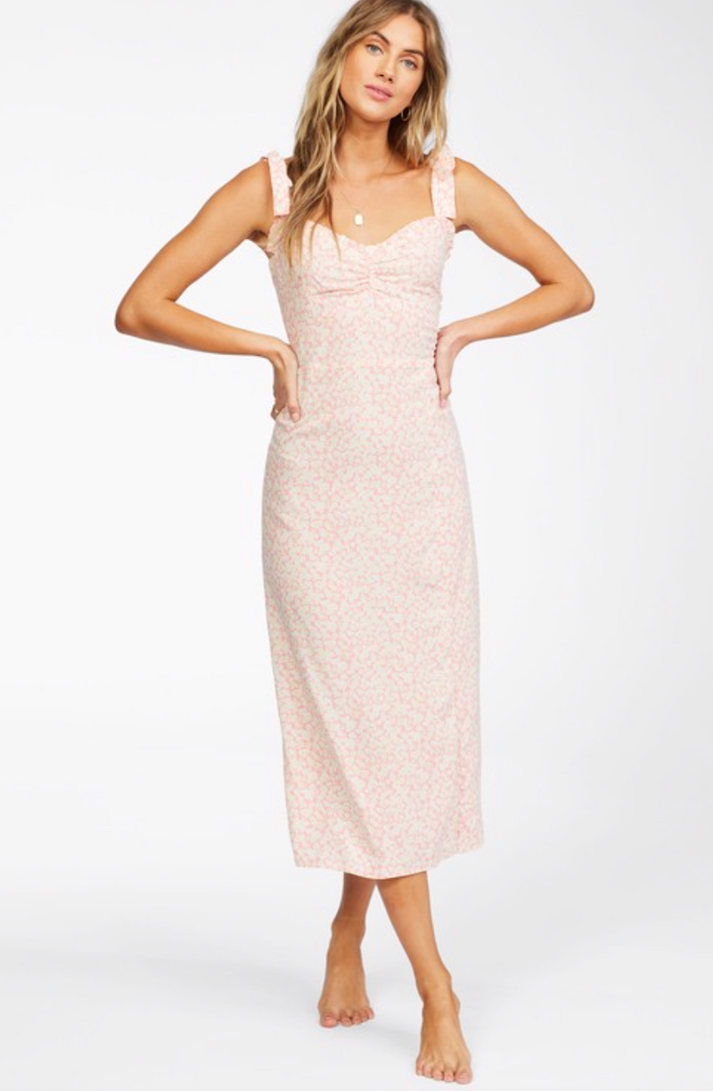 Amor Midi Woven Midi Dress (3CS)