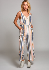 Ursan Striped Jumpsuit (MUL)