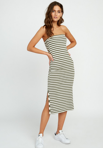 Raincheck Strapless Midi Dress (ARF)