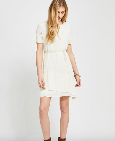 Isabella Dress (Off White CRM)