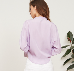 Gloria Wrap Top (Lavendar)
