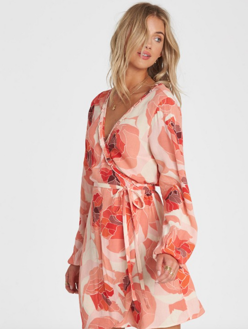 Ruffled Wrap Dress (MUL)