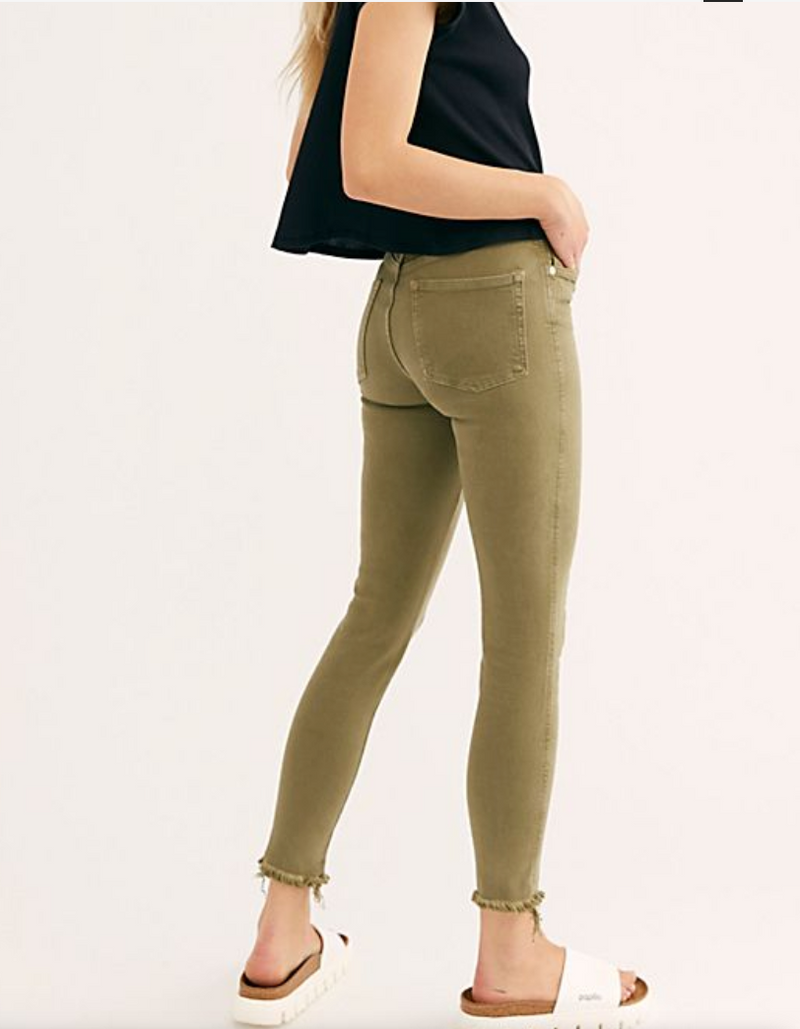 Raw High Rise Jegging (Army)