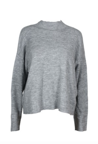 Feel the Warmth Sweater (Grey)