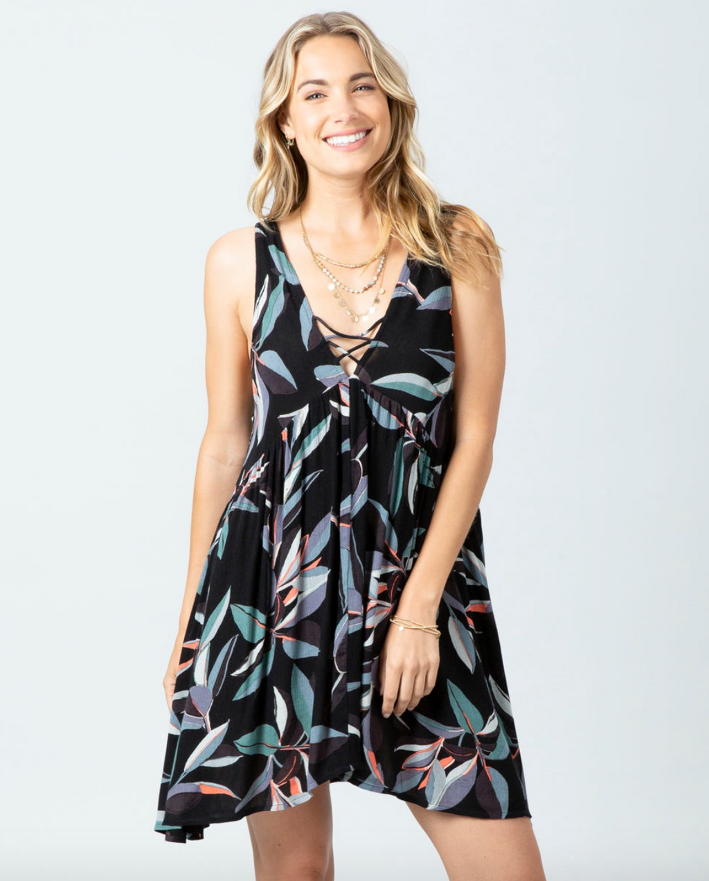 Palm Bay Dress (BLK) ONLINE EXCLUSIVE
