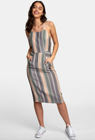 Black Ash Striped Midi (PAV)