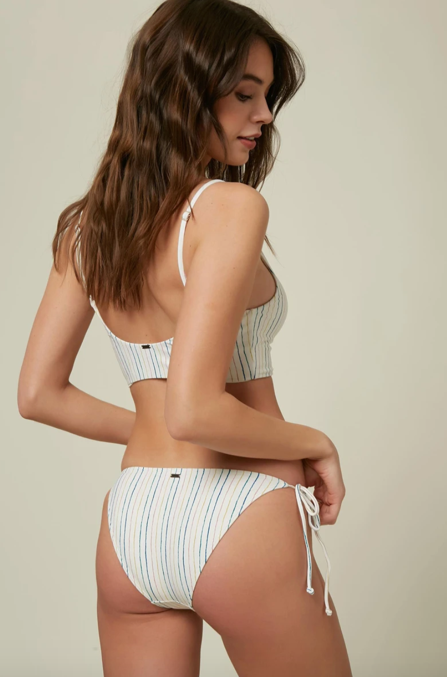 BRIDGET STRIPE SIDE TIE PANT (VAN)