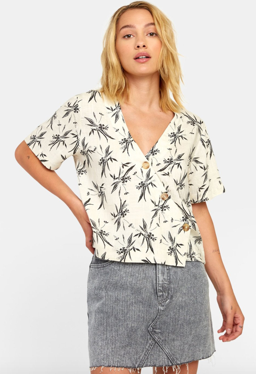 Farrell Button-Up Top (OAT)
