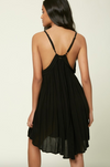 Saltwater Solids Tank Dress (BLK)