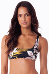 Colombo Bandeau Crop Top (BLK)
