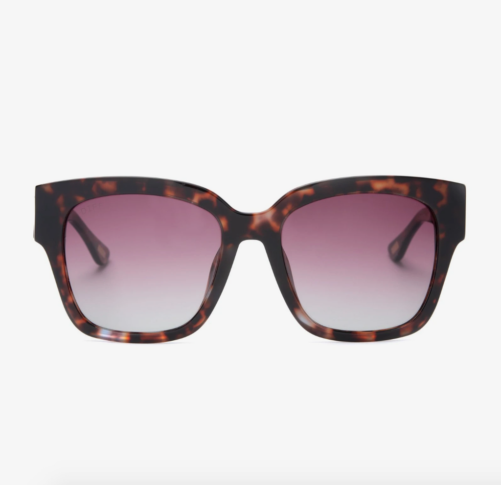 bella II (wine tortoise + wine gradient polarized lens)