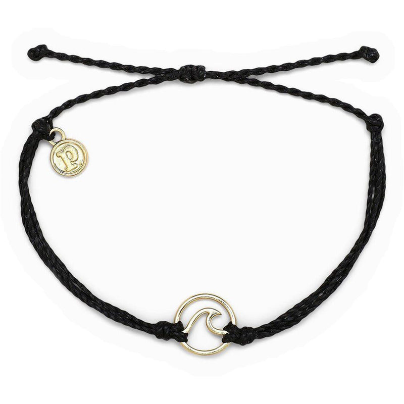Wave Bracelet Gold (BLK)