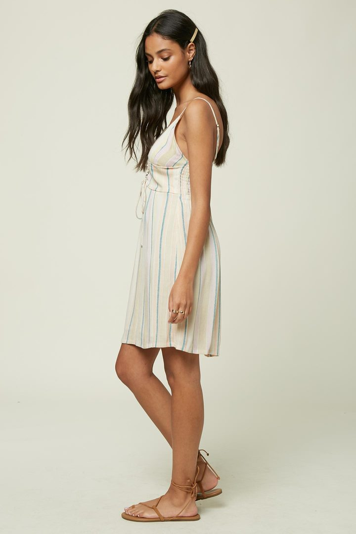 Brida Stripe Dress (MUL)